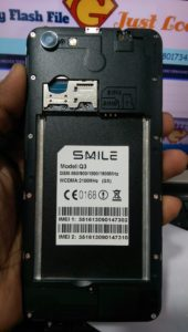 Smile Q3 Flash File (GX) MT6580 7 1 New File Update Firmware