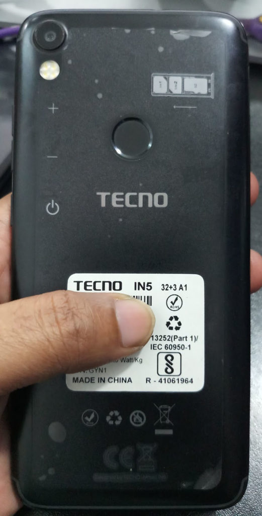 Tecno iN5 Flash File Frp Mt6737t 7 0 Update Customer Care File