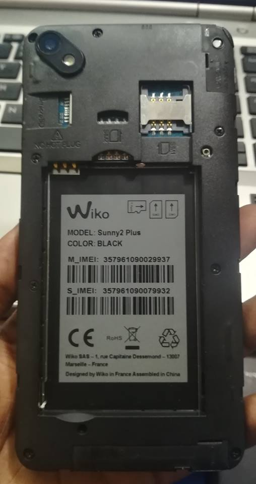 Wiko Sunny2 Plus Flash File Frp Mt6580 7 0 Customer Care