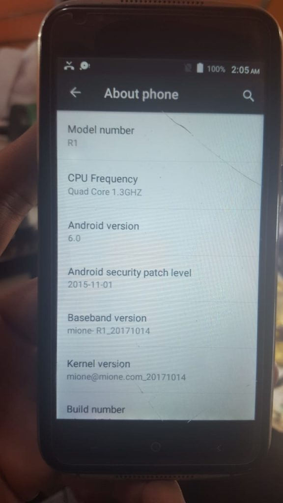 Mione R1 Flash File Sp7731 6 0 Pac Update firmware version