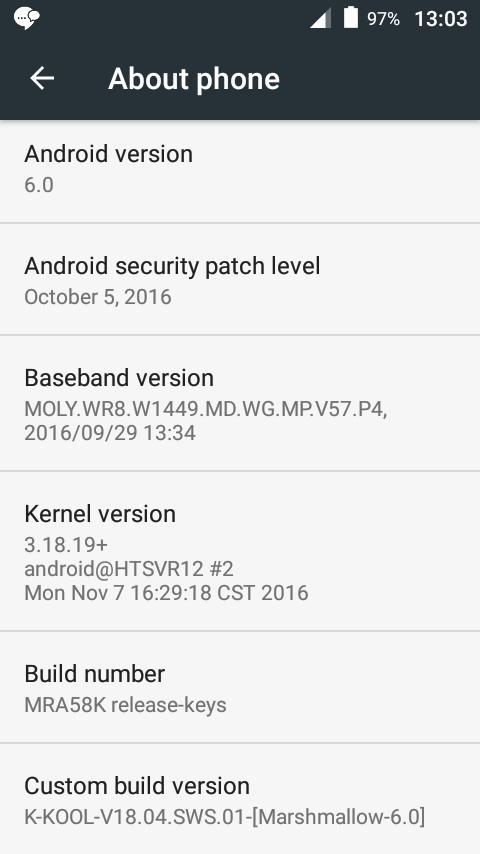 Wiko K-Kool Flash File MT6580 6 0 Update Version Firmware
