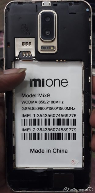 Mione Mix9 Flash File MT6580 5 1 Update Firmware Rom