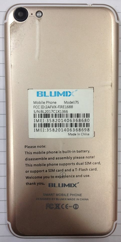 Blumix i7S Flash File MT6580 6 0 Update Firmware Rom