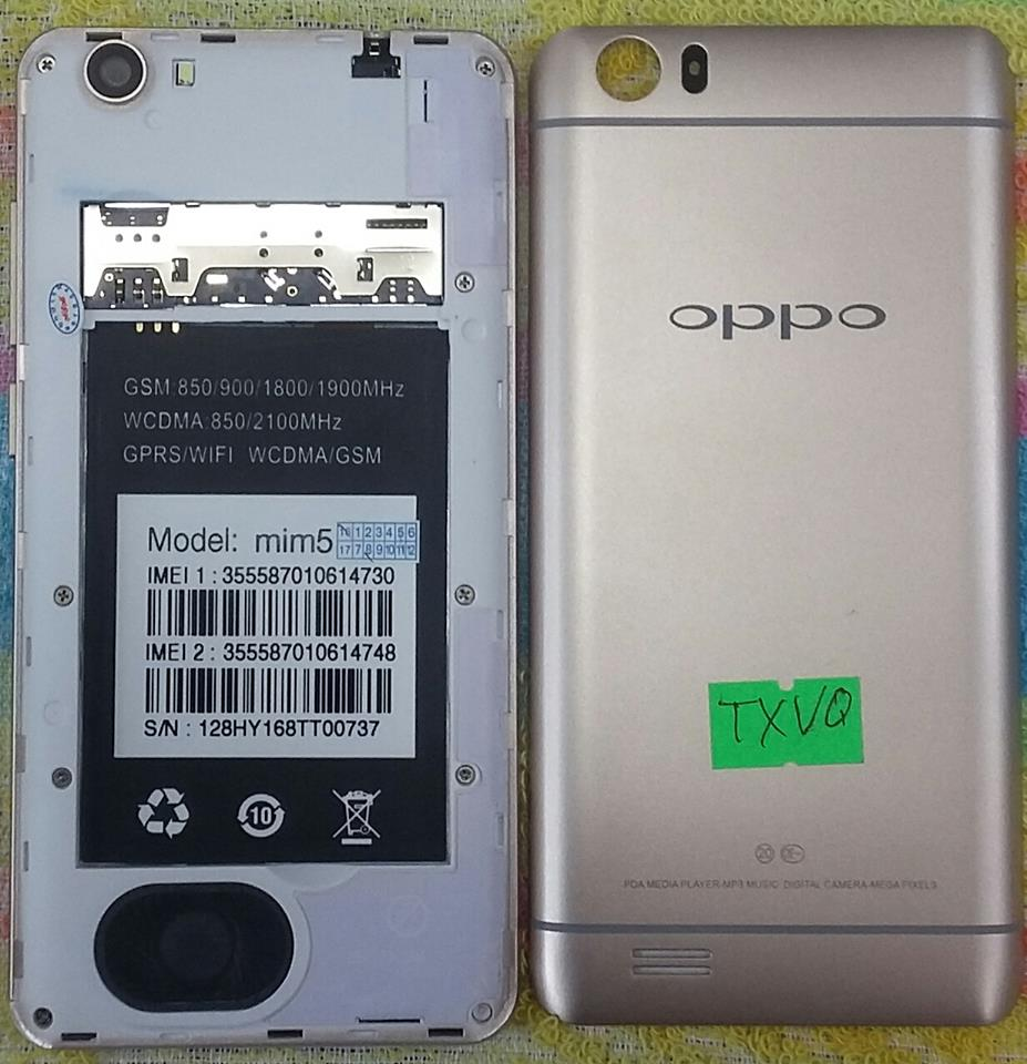 Oppo Clone Mim5 Flash File MT6572 4 4 2 Firmware T20 | Rom