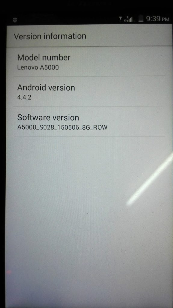 Lenovo A5000 Flash File Firmware MT6582 4 4 2 Custom Rom