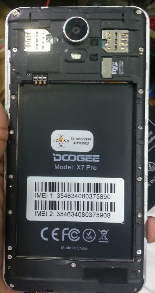 Doogee X7 Pro Flash File MT6737M 6 0 Dead Lcd Fix | Firmware
