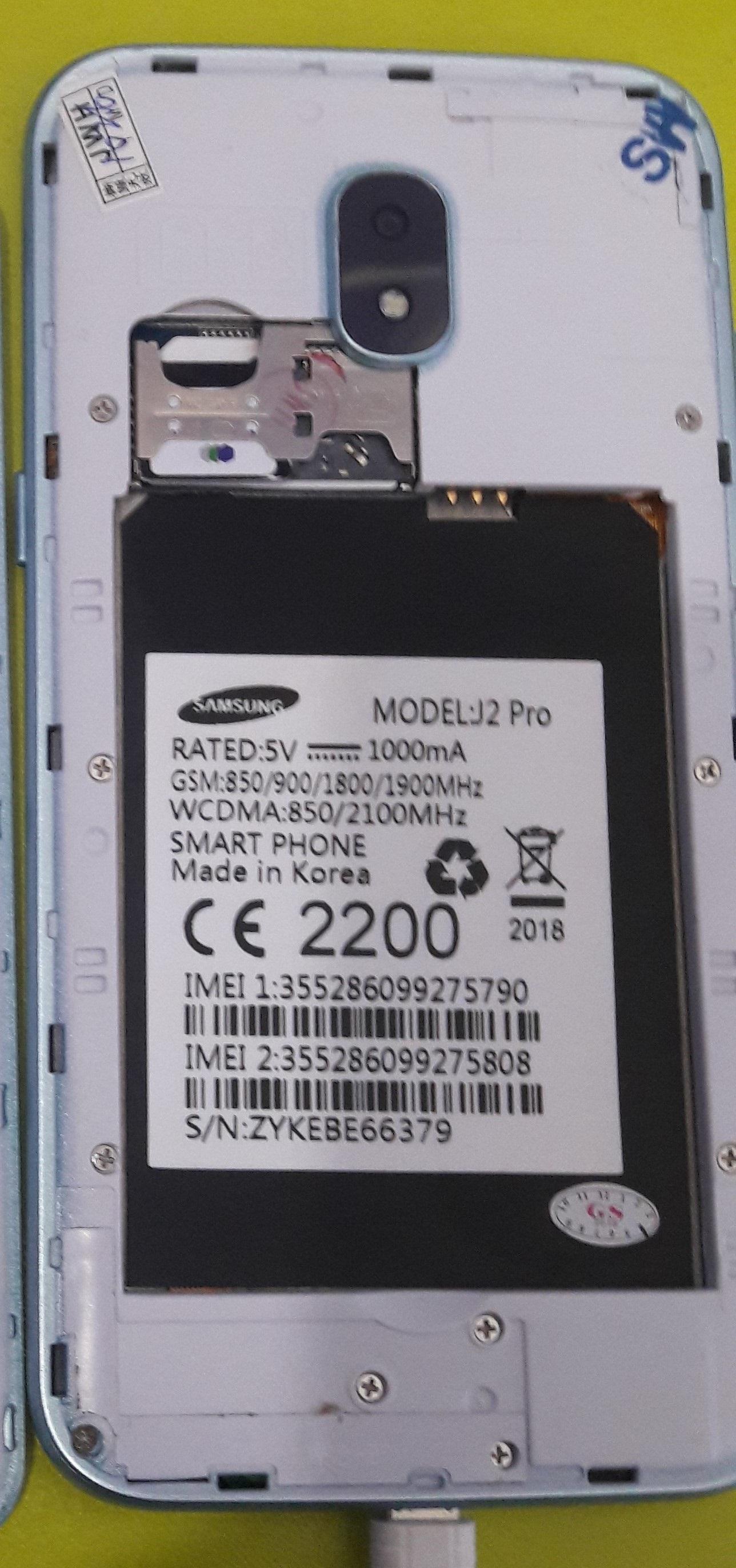 Samsung Clone J2Pro Flash File MT6580 8 0 Mobile Flash Tools