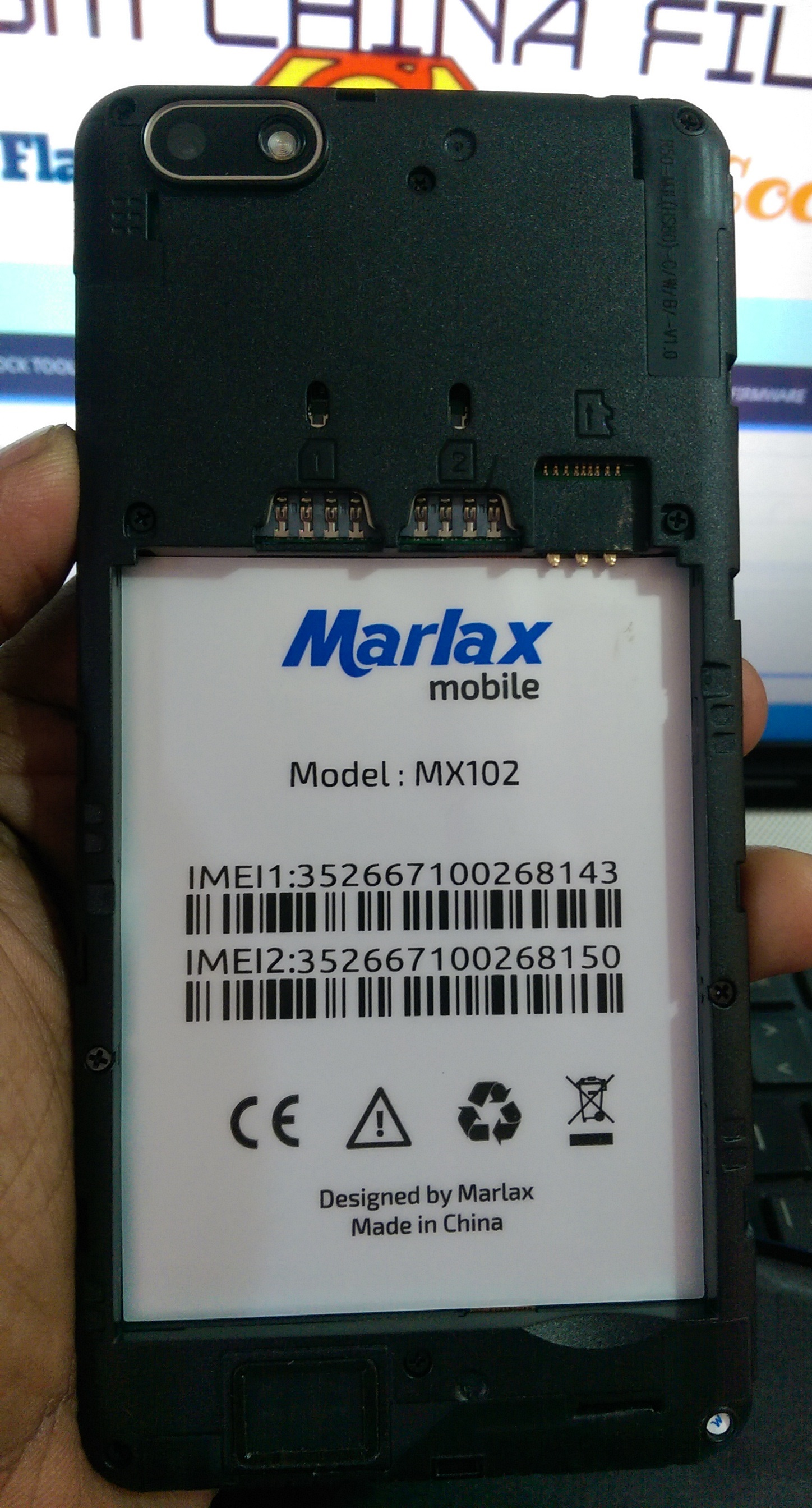 Marlax MX102 Flash File 2nd Lcd MT6580 5 1 All Android Version