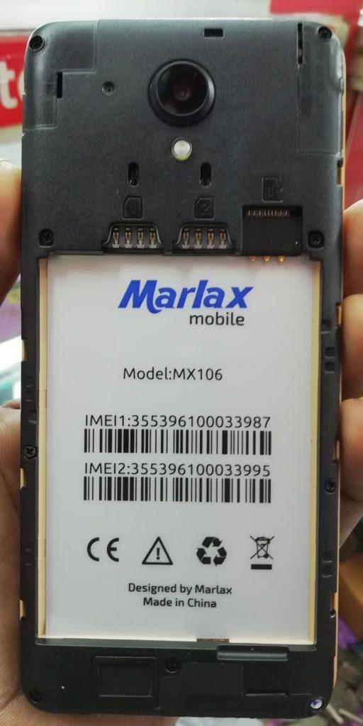Marlax MX106 Flash File | MT6580 Android 6 0 Custom ROM