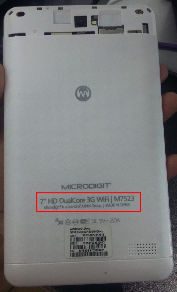 Microdigit M7523 Flash File Tab MT6572 4 4 2 Hang Logo Fix Rom