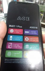 Ace Buzz 1 Plus Flash File Frp MT6739 8 1 Dead Recovery Care File