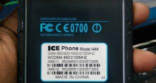 ICE Phone i444 Flash File