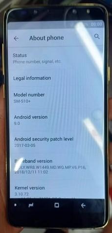 Samsung Clone S10+