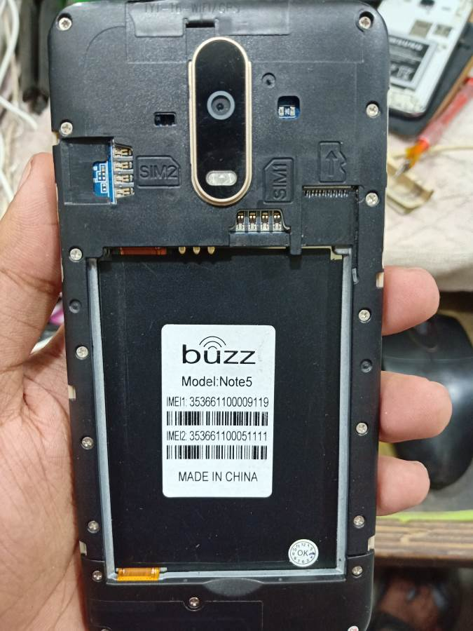 Buzz Note5 Stock Firmware