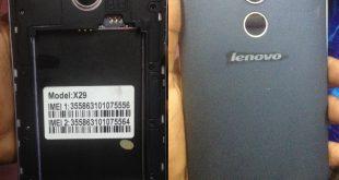 Lenovo X29 Firmware