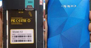 Oppo Clone A3s Firmware