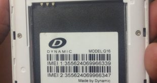 Dynamic G16 Firmware