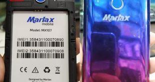 Marlax MX107 Firmware