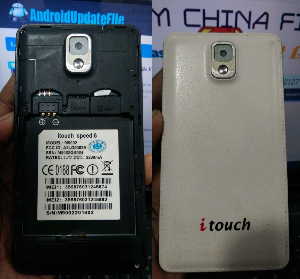 iTouch Speed 6 Firmware