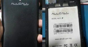 Allcall HOT 9X LTE Firmware