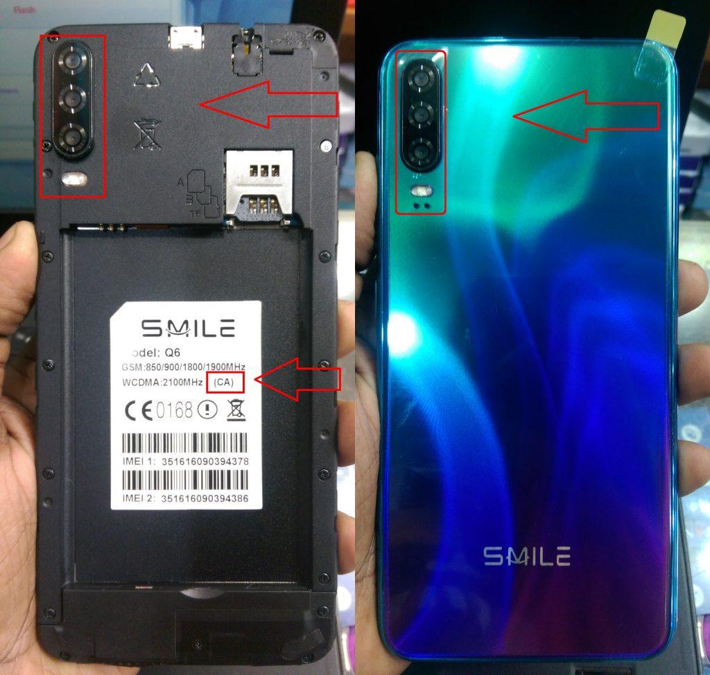 Smile Q6 Firmware