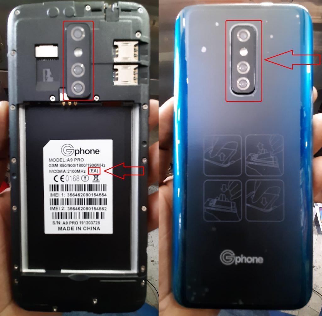 Gphone A9 Pro (EA) Firmware