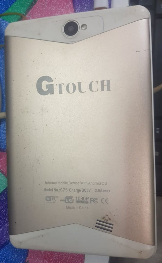 Gtouch G75 Firmware