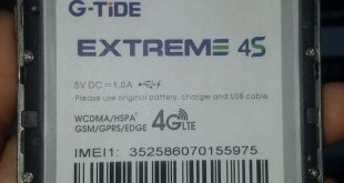 G-Tide Extreme 4S Firmware