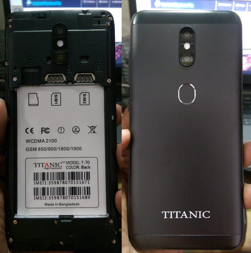 Titanic T-70 Flash File