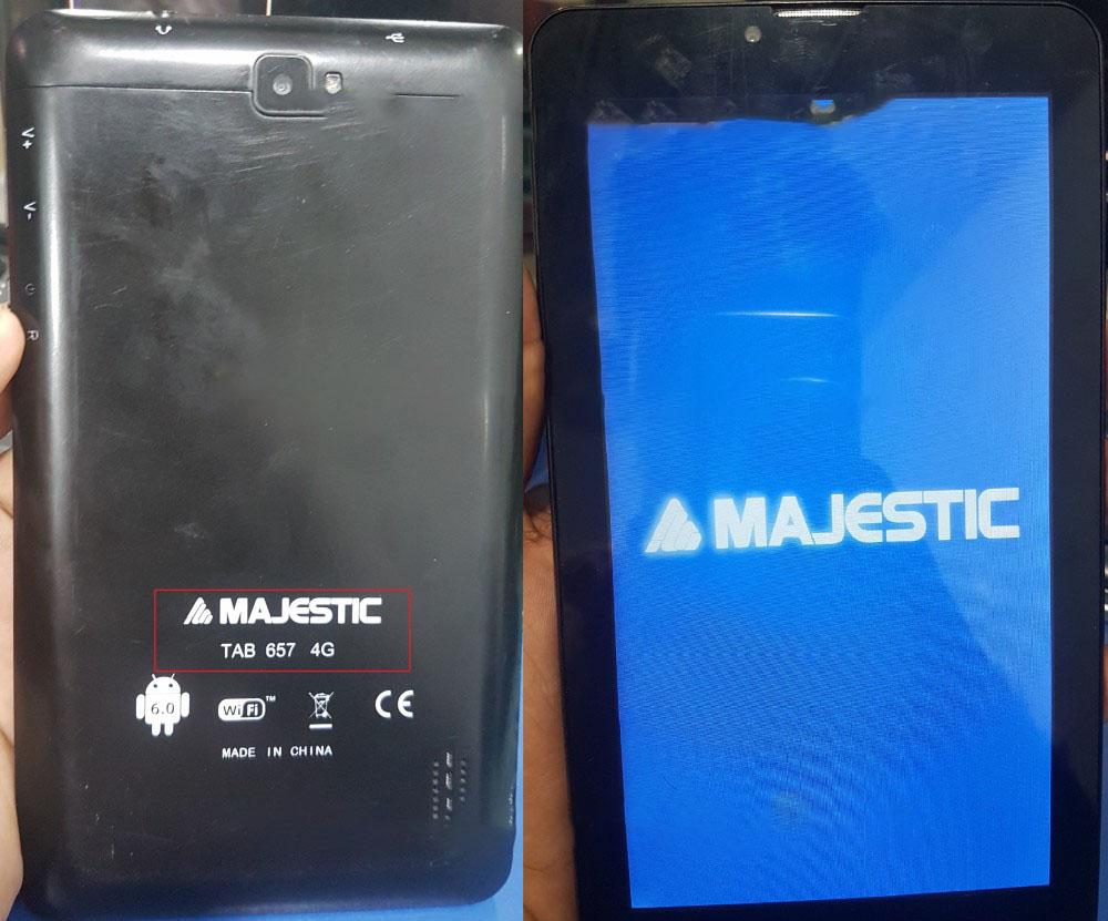 Majstic TAB 657 4G Firmware