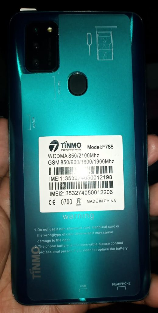 Tinmo F788 Flash File