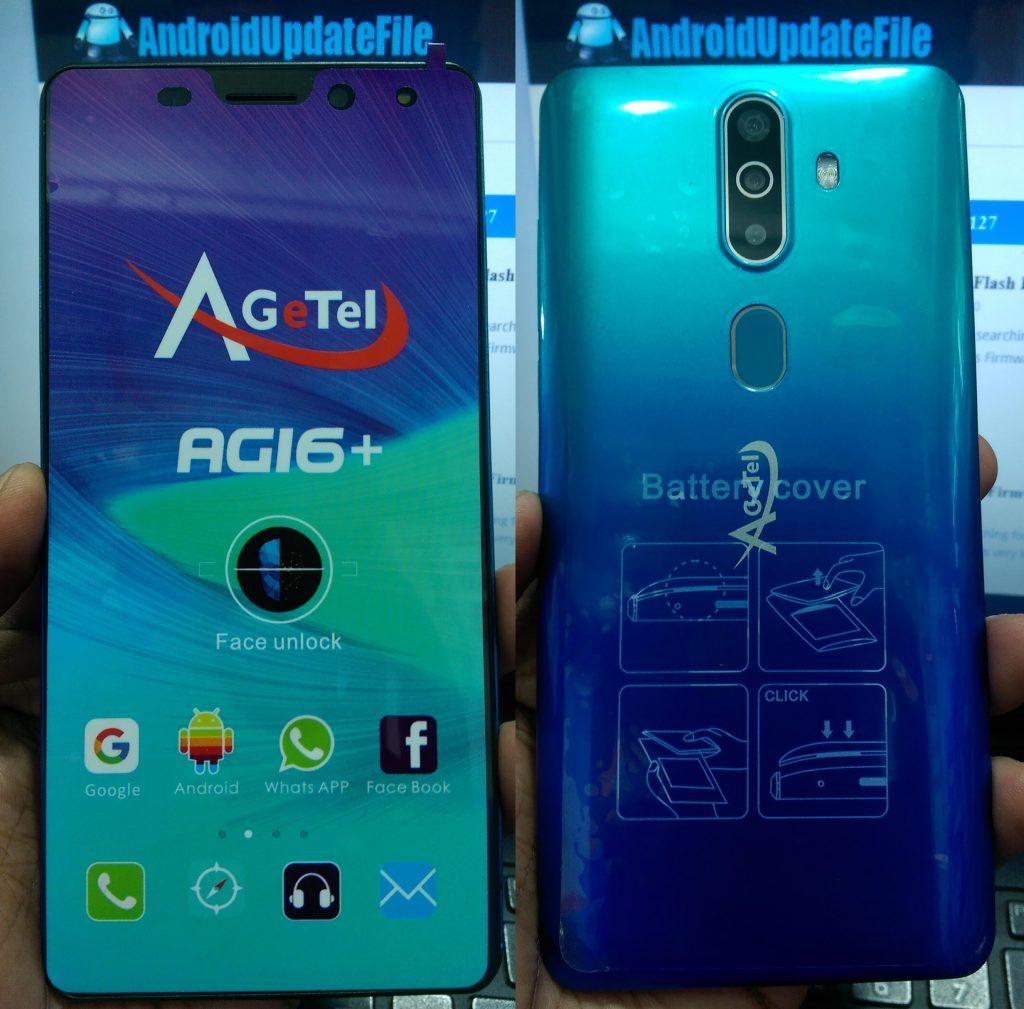 Agetel AG16+ Flash File Firmware