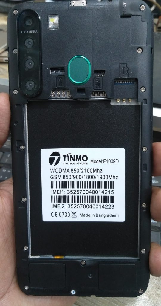 Tinmo F1009D Flash File Firmware