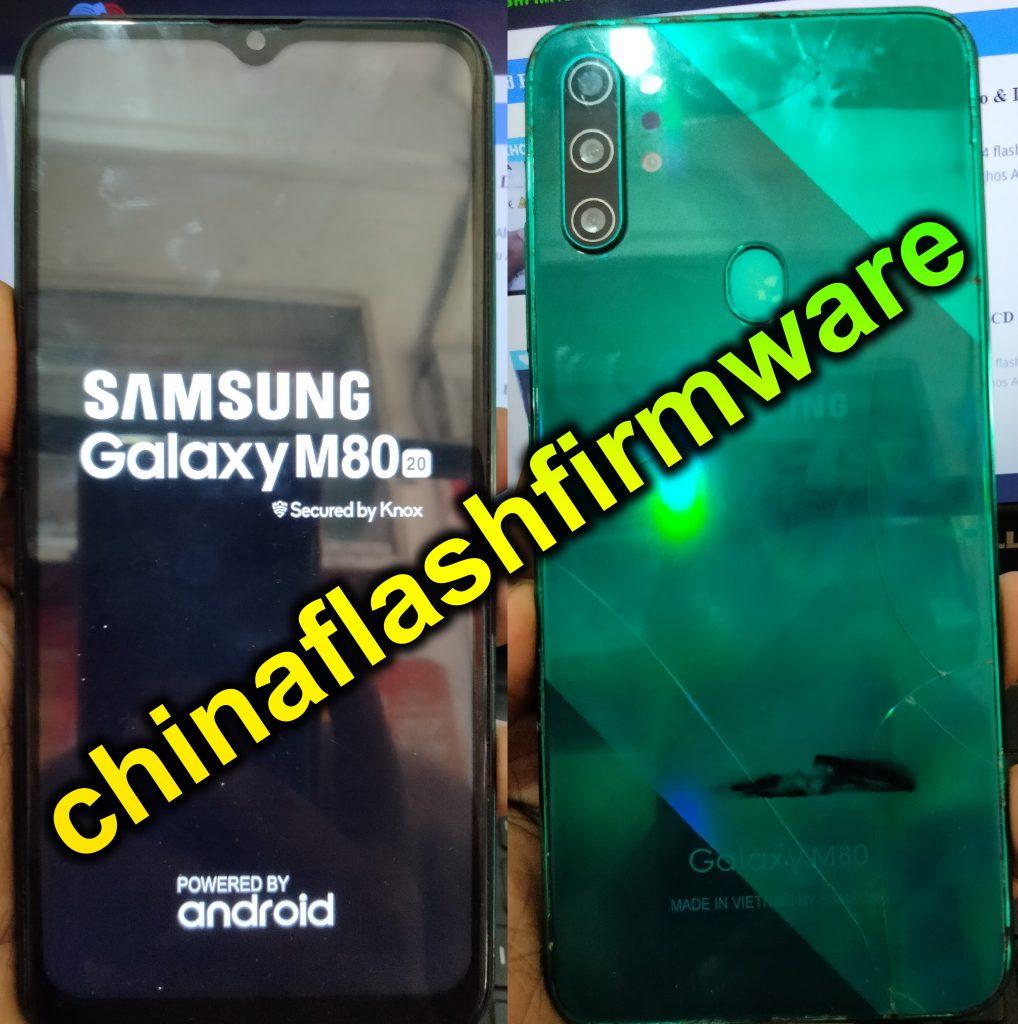 Samsung Clone M80 20 Flash File