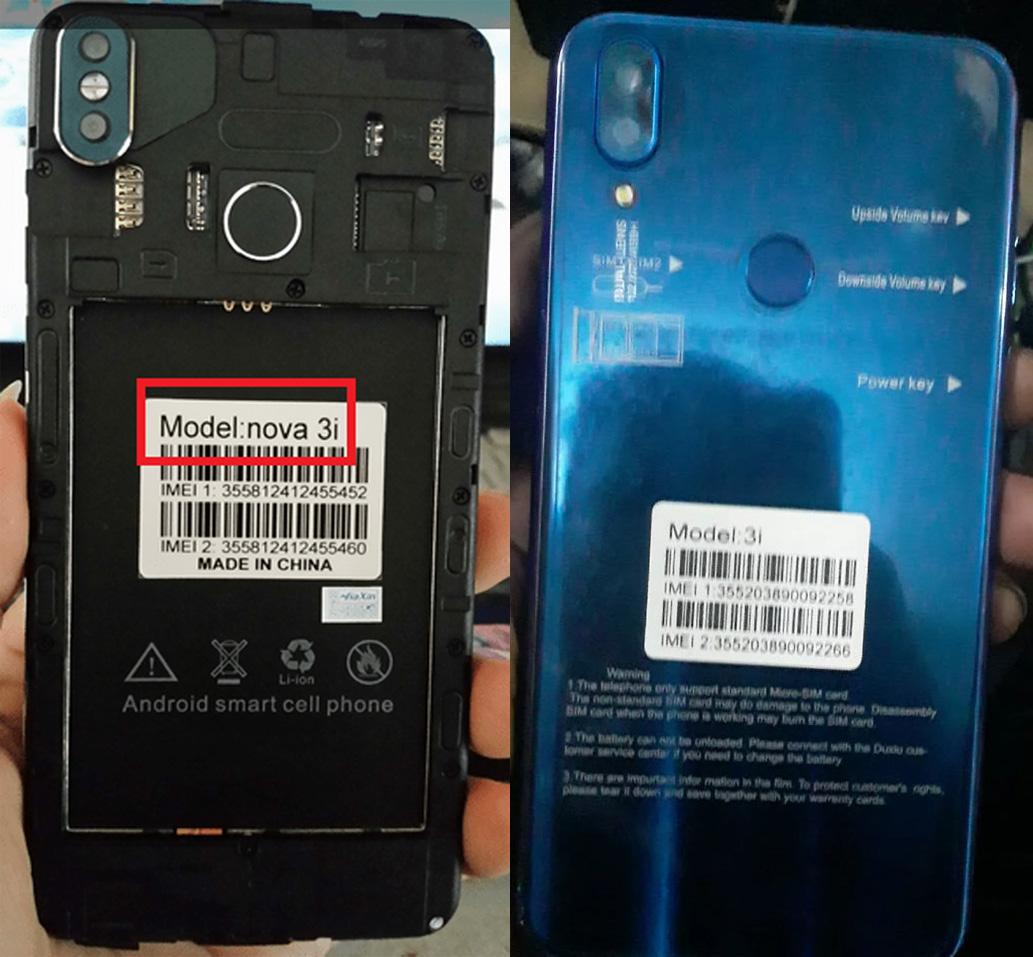 Huawei Clone Nova 3i
