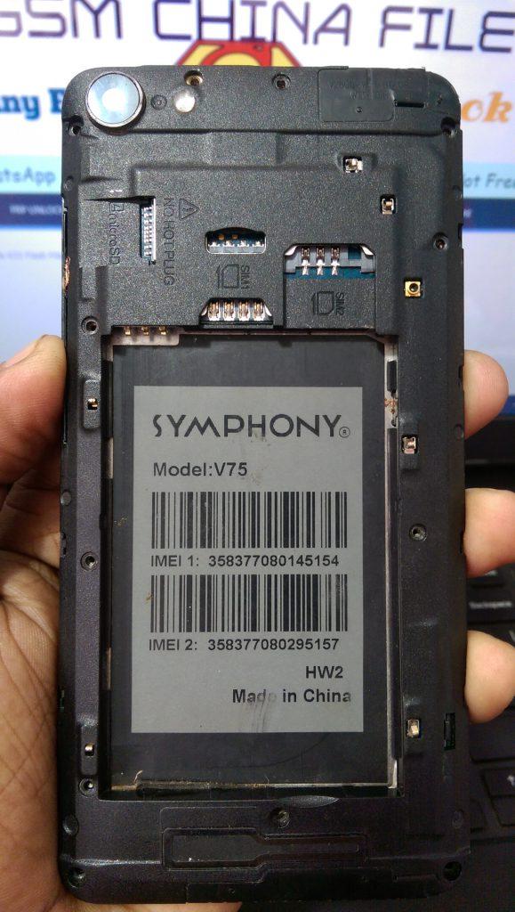 Symphony V75 Firmware