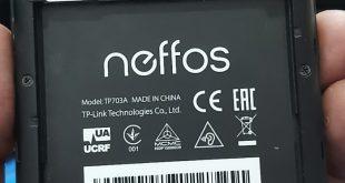 Neffos C5a TP703A