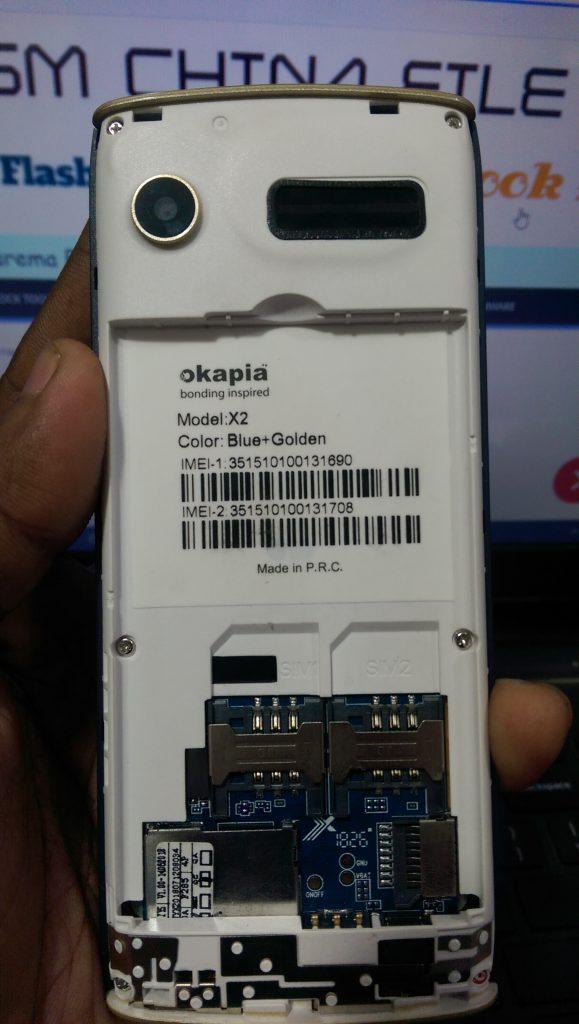 Okapia X2 Firmware