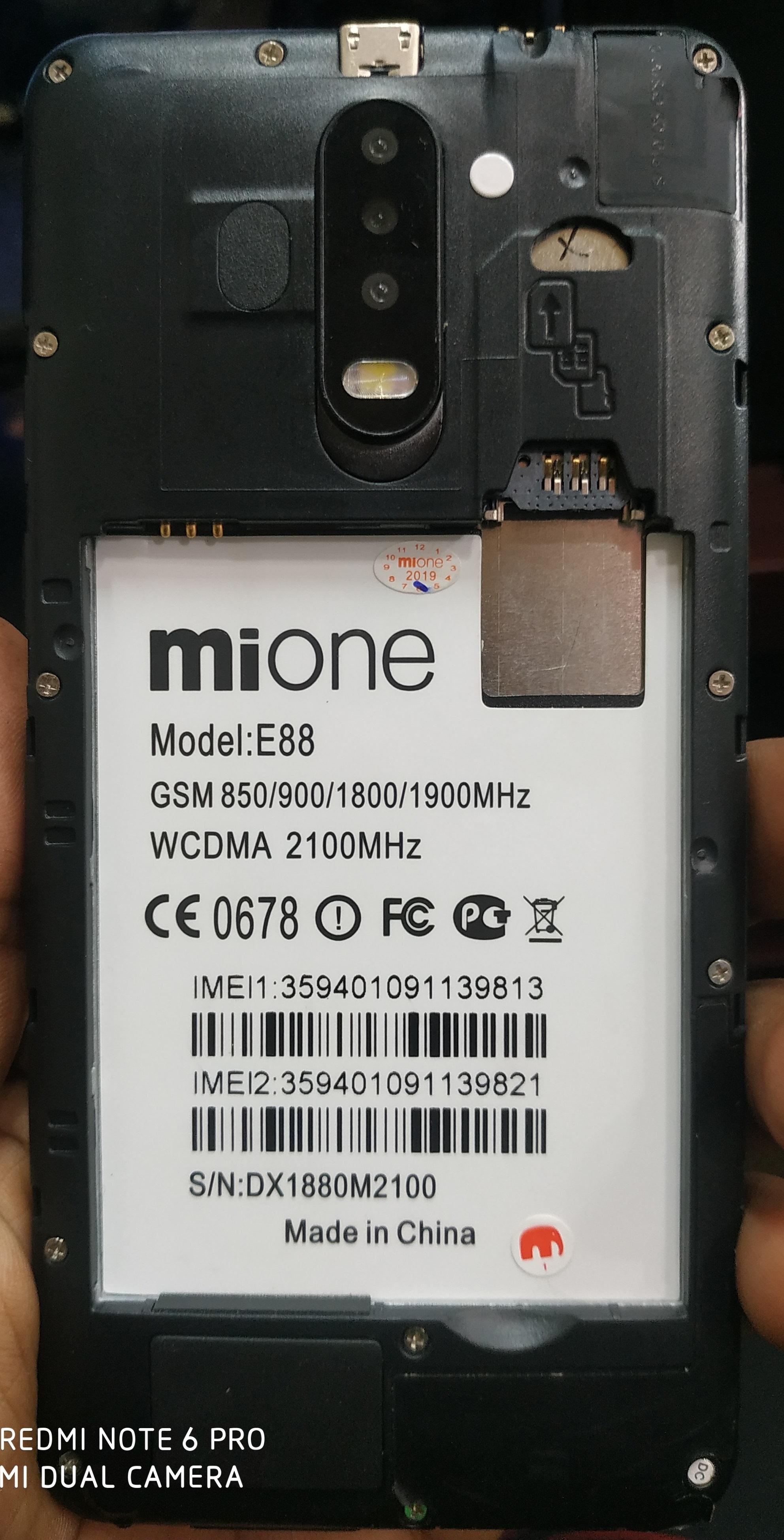 Mione E88 Firmware