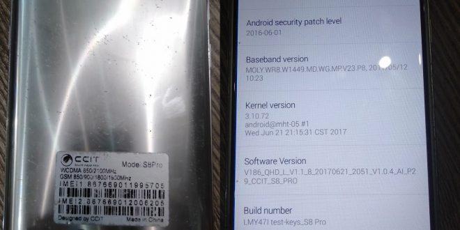 Ccit S8 Pro Firmware