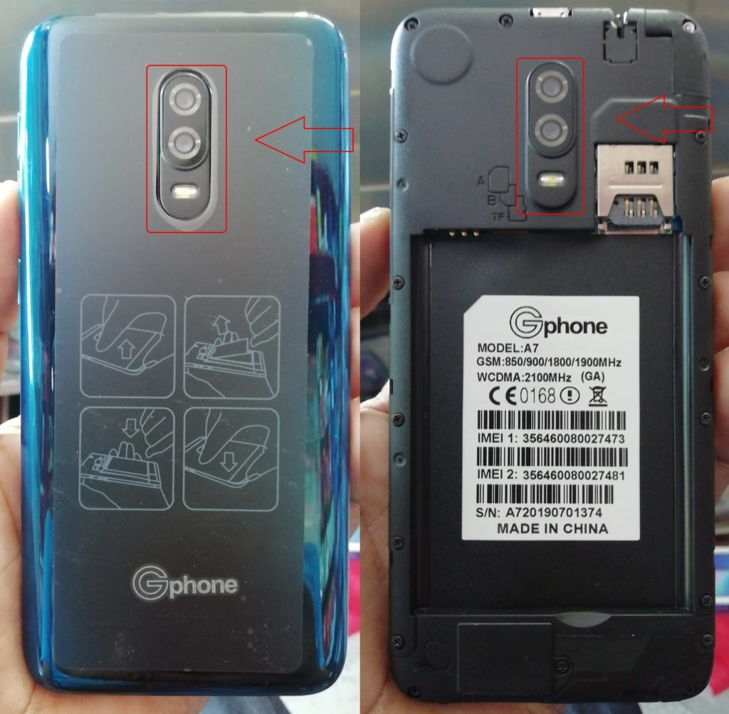 Gphone A7 Firmware