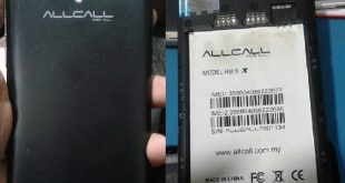 Allcall HOT 9X LTE Firmware