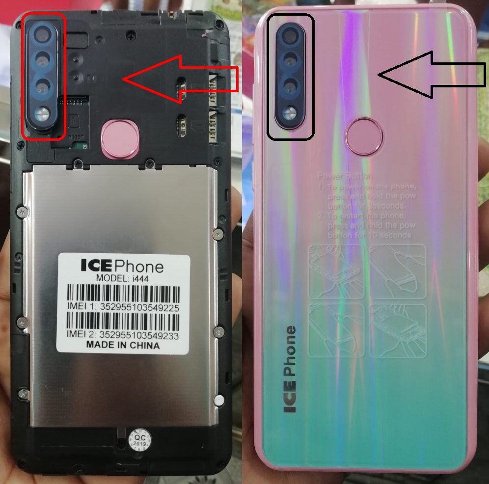 Ice Phone i444 Firmware,