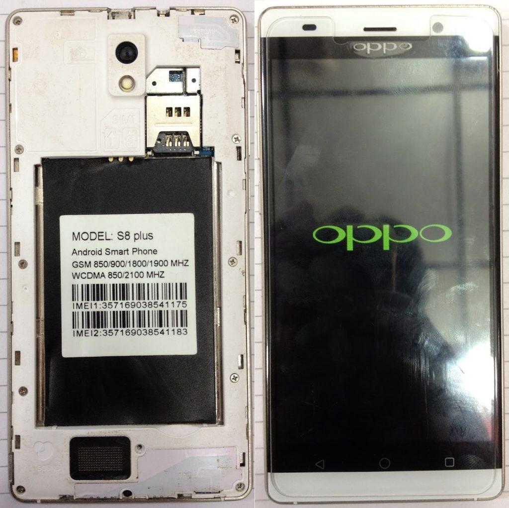 Oppo Clone S8 Plus Firmware