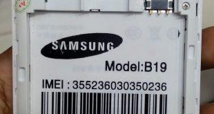 Samsung Clone B19 Firmware