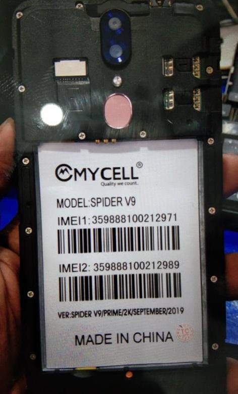 Mycell Spider V9 Firmware