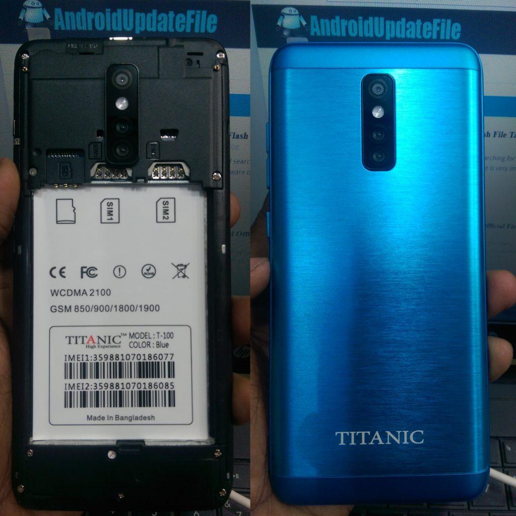 Titanic T-100 Firmware