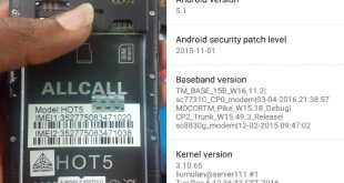 Allcall HOT5 Firmware