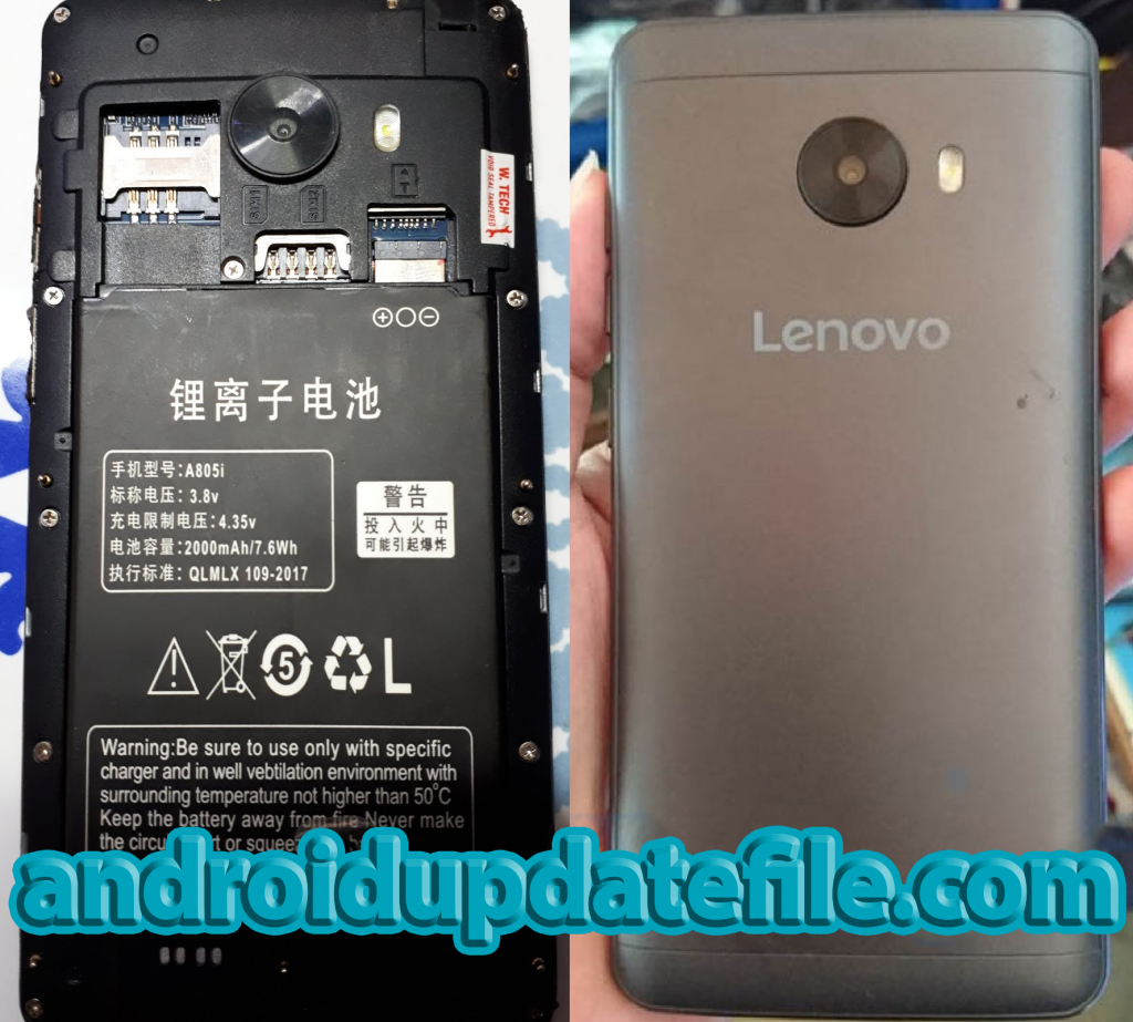 Lenovo Clone A805i Flash File