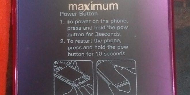 Maximum MB102 Firmware